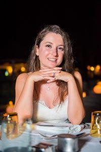 mauritius wedding photographer shooting bride for her honeymoon holidays